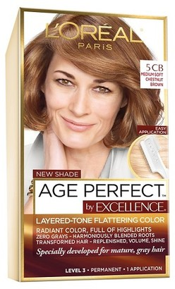 L'Oreal Paris Age Perfect by Excellence - Medium Brown