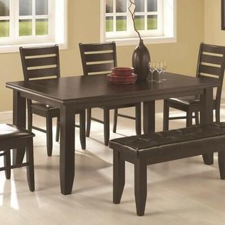 Winston Porter Yelisey Semi-Formal Solid Wood Dining Table Winston Porter