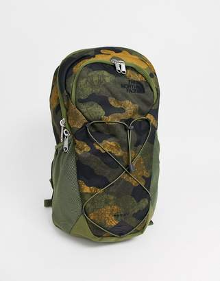 The North Face Rodey backpack in khaki camo