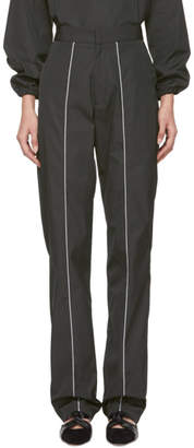 Markoo Grey The Piped Trousers