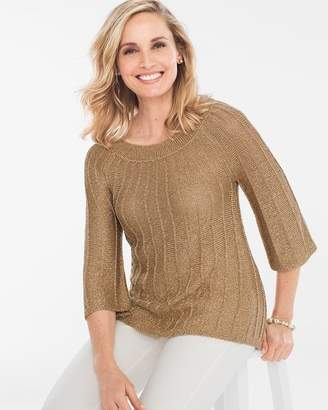 Chico's Shine-Detail Pullover