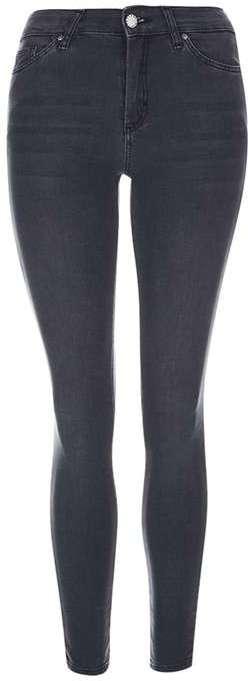 TopshopTopshop Moto dark grey leigh jeans