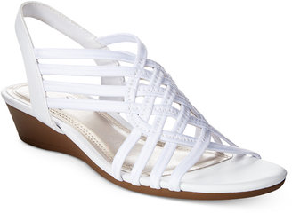 Impo Refresh Stretch Wedge Sandals $50 thestylecure.com