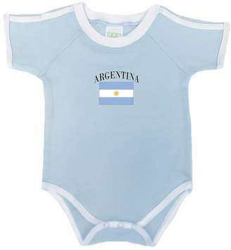 PAM GM Baby Bodysuit With The Argentina National Flag