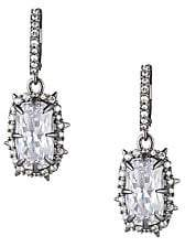 Alexis Bittar Essentials Swarovski Crystal Framed Cushion Drop Earrings