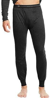 Duofold KMW2 Men's Thermal Base-Layer Underwear Black 2 Pack
