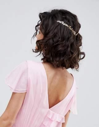 Asos Dainty Floral Back Hair Crown