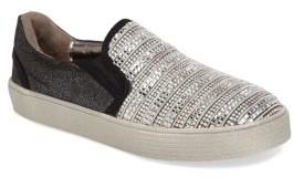 Girl's Stuart Weitzman Vance Glitz Slip-On Sneaker $60 thestylecure.com