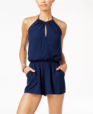 Roxy Juniors' Extratropical Surplice Romper $49.50 thestylecure.com