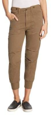 Vince Slouchy Military Buttoned Pants