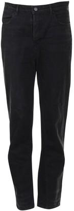 Alexander Wang Black Cloth Trousers