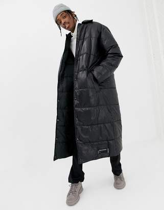 Cheap Monday Logo Thermo Coat In Black