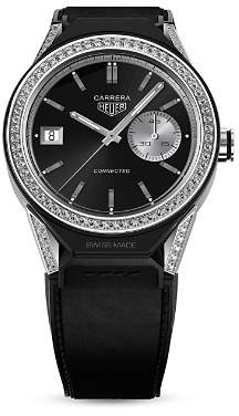 Tag Heuer Connected Modular Diamond Bezel Smartwatch, 45mm