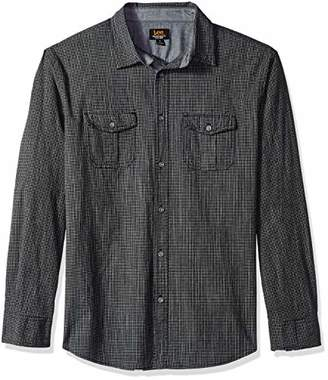Lee Men's Tall Size Long Sleeve Woven