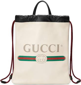 972f2a7aba8a Gucci Print Small Drawstring Backpack