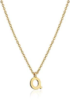N. 1928 Jewelry 7mm Initial X Pendant Necklace
