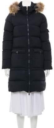 Pyrenex Fur Hooded Down Coat