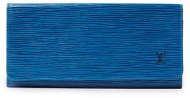 Louis VuittonVintage Toledo Blue Epi Porte Monnaie Credit