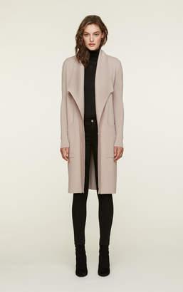 Soia & Kyo BRIHANA straight fit knee length coatigan with lapel