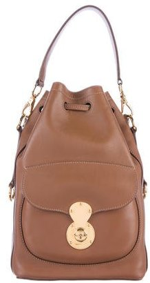 Ralph Lauren Ricky Drawstring Bag $900 thestylecure.com