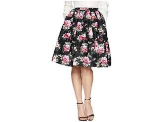Unique Vintage High Waist Swing Skirt