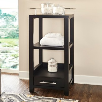 Linon Hoover Tall Storage Cabinet