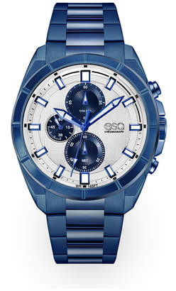 ESQ Men's ESQ0135 Blue Ip Stainless Steel Chronograph Bracelet Watch