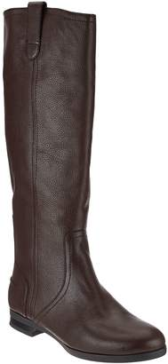 Halston H By H by Pebble Leather Riding Boots - Amy