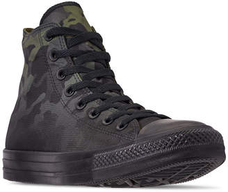 Converse Men Chuck Taylor All Star Gradient Camo High Top Casual Sneakers from Finish Line