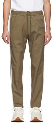 Stella McCartney Brown Side Stripe Trousers