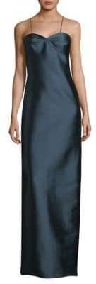 Sachin + Babi Hira Column Gown