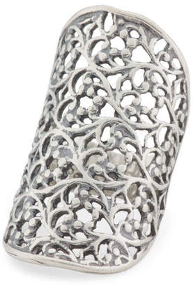 Made In Israel Sterling Silver Filigree Knuckle Ring