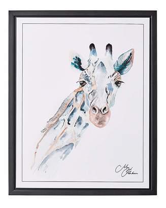 Fashion World Meg Hawkins Framed Wall Art - Giraffe