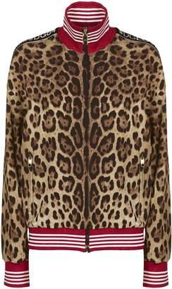 Dolce & Gabbana Leopard Bomber Jacket