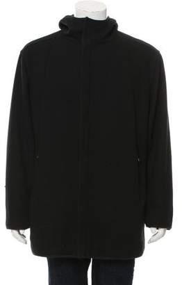 Prada Sport Wool Zip-Up Coat