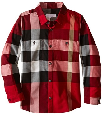 Burberry Kids - Mini Camber Shirt Boy's Clothing $150 thestylecure.com