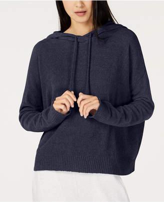 Eileen Fisher Chenille Hooded Sweater, Regular & Petite
