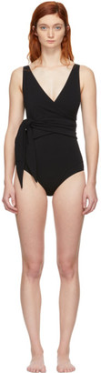 Lisa Marie Fernandez Black Dree Louise One-Piece Swimsuit