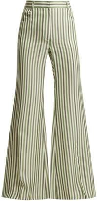 Sonia Rykiel High-waist striped trousers