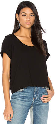 three dots Boxy Tee in Black $66 thestylecure.com