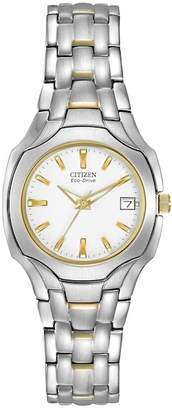 Citizen Women's Eco-Drive Two-Tone Stainless Bracelet Watch, 25mm