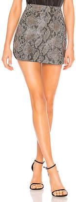 Karina Grimaldi Simone Snake Skirt