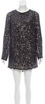 AllSaints Tavi Silk Dress
