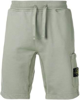 Stone Island elasticated waist shorts