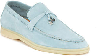 8315e550c6d ... Loro Piana Summer Charms Walk Suede Loafers