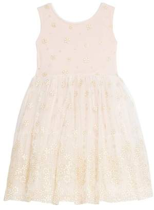 Frais Glitter Mesh Tulle Dress