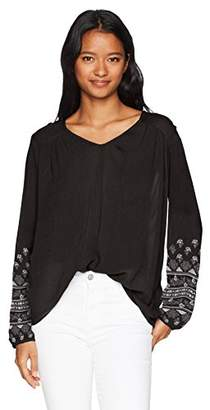 O'Neill Women's Mariana Embroidered Long Sleeve Top