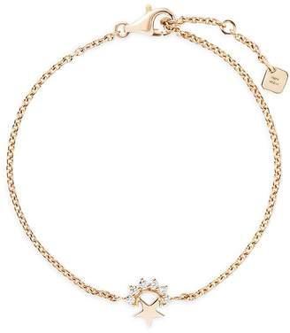 Nouvel Heritage 18K Yellow Gold Mystic Diamond Small Star Chain Bracelet