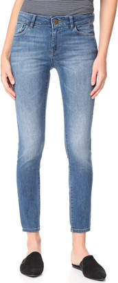 DL1961 Margaux Ankle Skinny Jeans $198 thestylecure.com