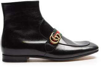 Gucci Donnie leather boots